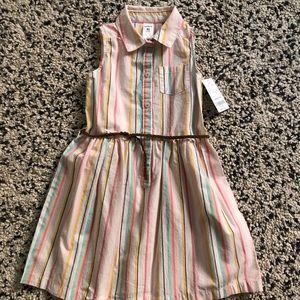 Rainbow Stripe Carter's Dress